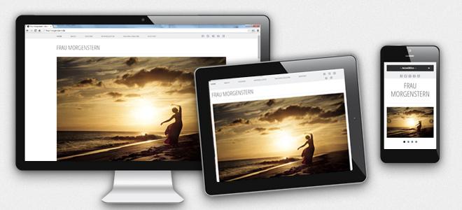 Mobiloptimiertes Webdesign